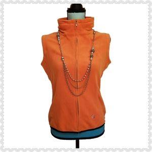 Sunice FF54 Fleece Vest Orange Size Medium
